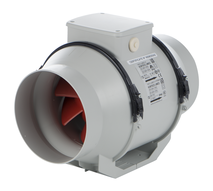 Mixed Flow Fan : Vortice lineo v commercial ventilation mixed flow
