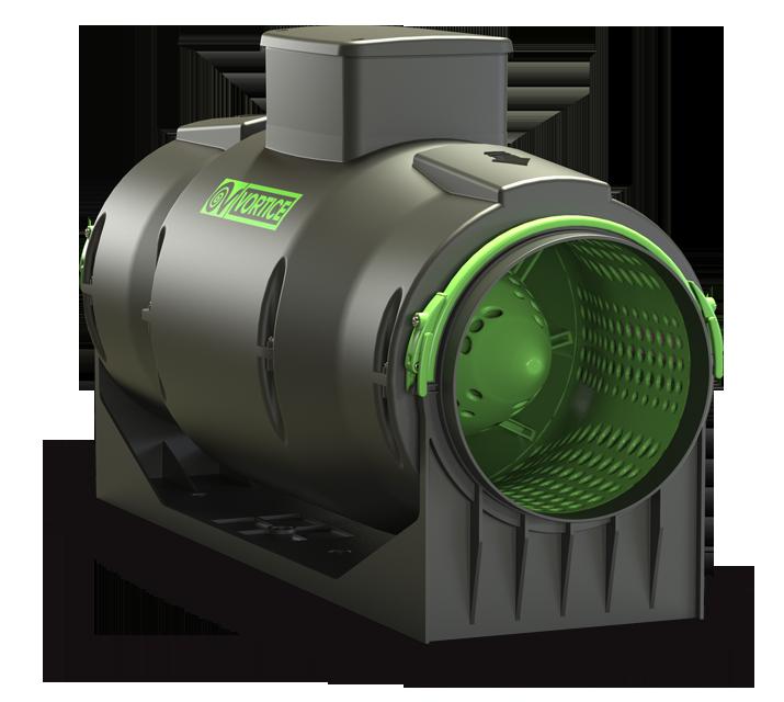 Vortice Rohrventilator LINEO 100 bis zu 270 m/³//h IPX4, :100 ES Ausf/ührung